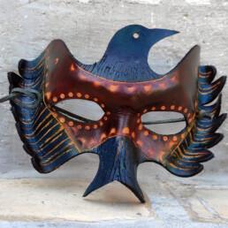 Gianni Maragno / Pandora cuoio. Maschera