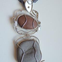 Lela Campitelli / Materia. Sassi e argento